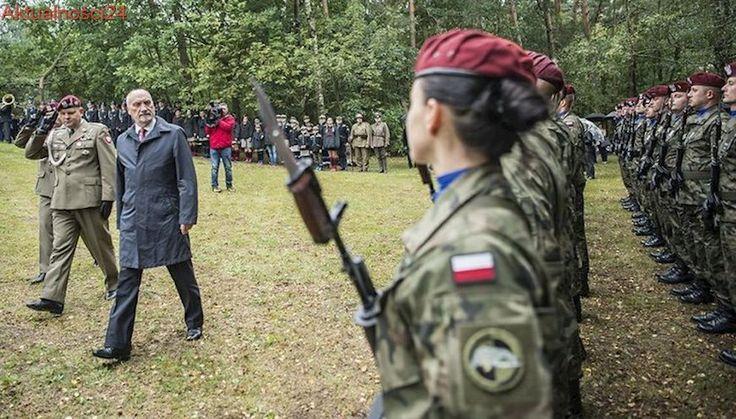 """Macierewicz pod """"Polskimi Termopilami"""": Musimy mieć armię zdolną samodzielnie bronić ojczyzny"""