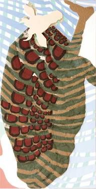 "Saatchi Art Artist luminita taranu; Painting, ""COWMAN ( Eastern Africa)"" #art"