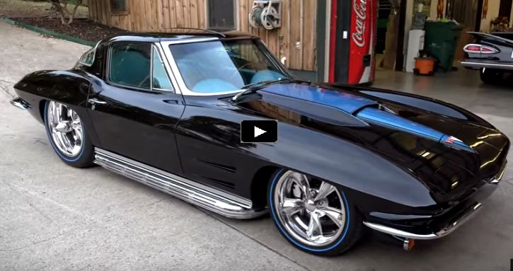 Slick 1963 Split Window Corvette SEMA 2016 Build