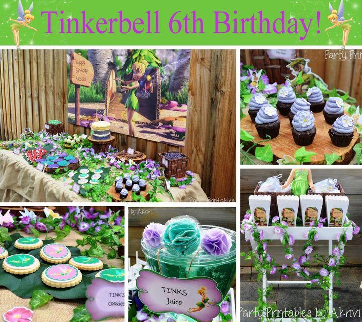 tinkerbell birthday party fairy   #tinkerbell #fairy #birthday