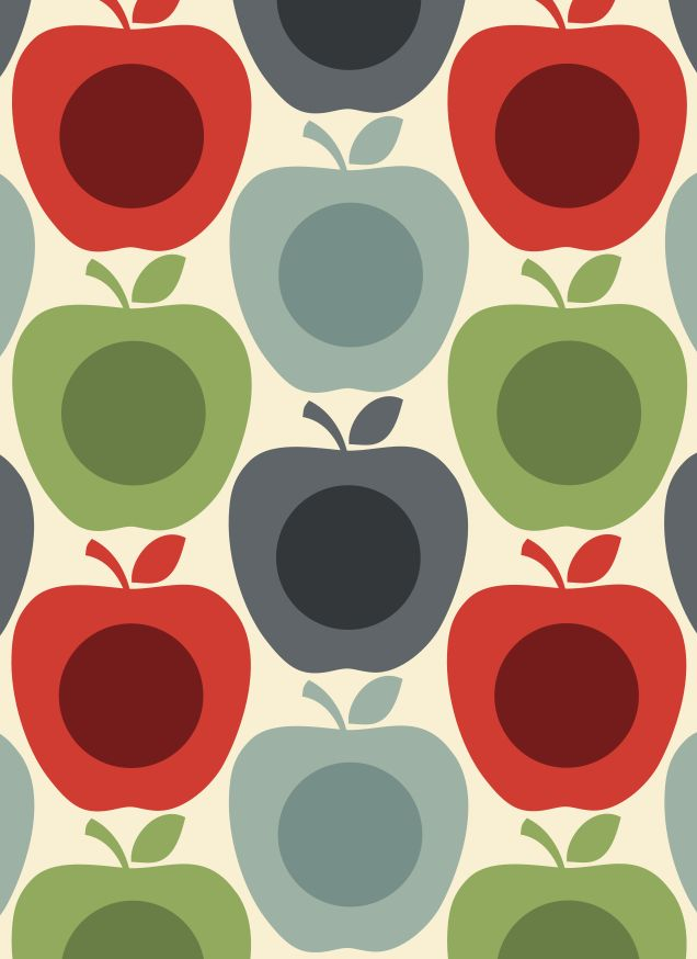 ORLA KIELY APPLE A DAY