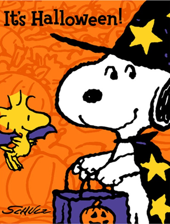 1000 images about snoopy the peanuts gang on pinterest - Snoopy halloween images ...