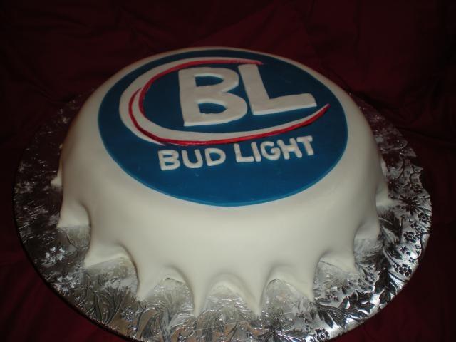 Bud Light Beer Bottle Cap