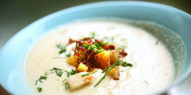 Blomkålsuppe/Cauliflower soup