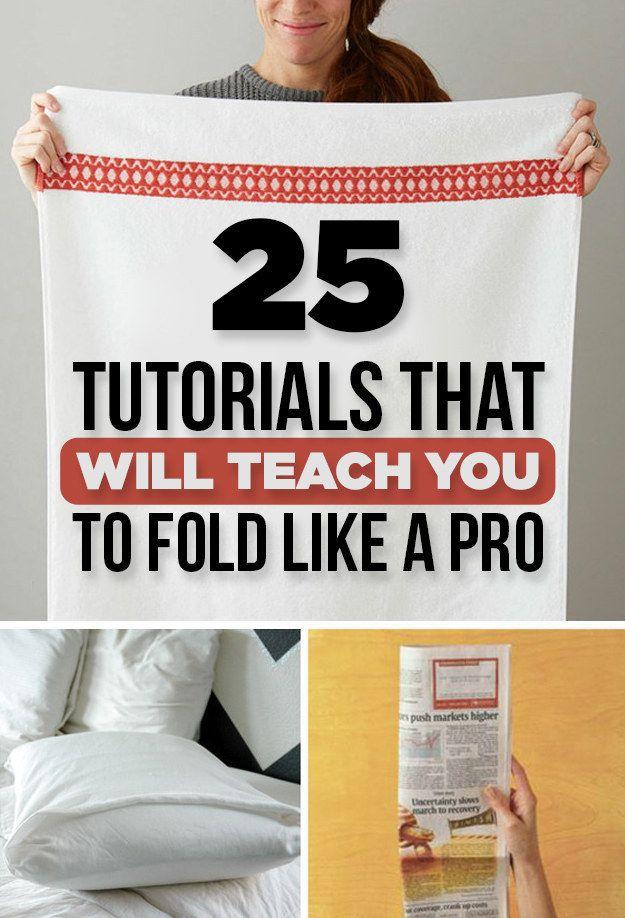 25 Tutorials To Teach You To Fold Like a Pro