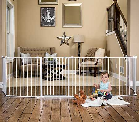 Best Indoor Baby Gates When children are crawling or learning to make their first steps, you can be very messy at home. To prevent injuries as a result of accidents installing a safety get is the right way.