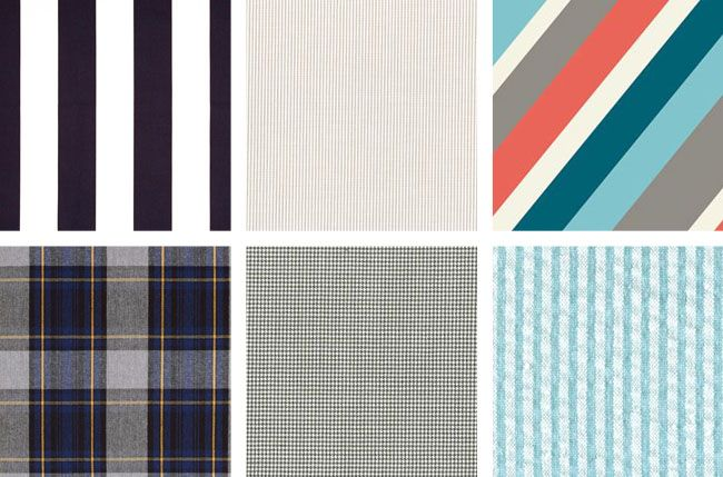 Love checks and tartan and stripes - horizontals Coletterie