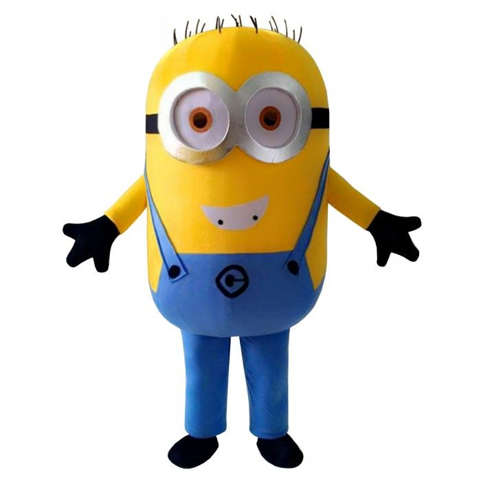 Phil the Minion Mascot Costume - Despicable Me - Complete Adult Outfit