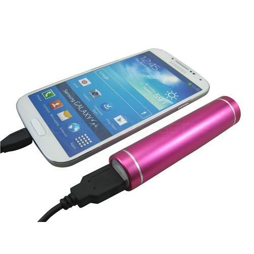 Backup-batteri till mobiltelefoner, 2600mAh - Reseladdare - Teknikproffset
