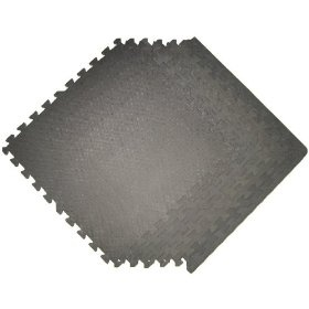 GRAY 48 SQ Ft Pack foam interlocking mats