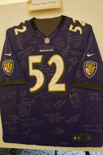 38a9032f5 nfl baltimore ravens 52 ray lewis pride name number t shirts purple ...