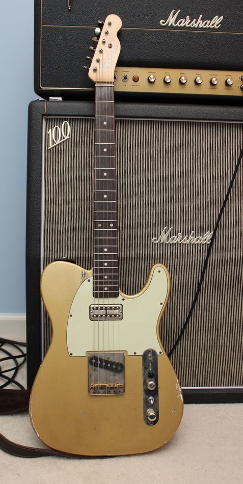 Bluesman Vintage Tele, with a Nunley 3 speed, SO MUCHTONE  VINTAGE+NEW+CO -> Table Bass Télé