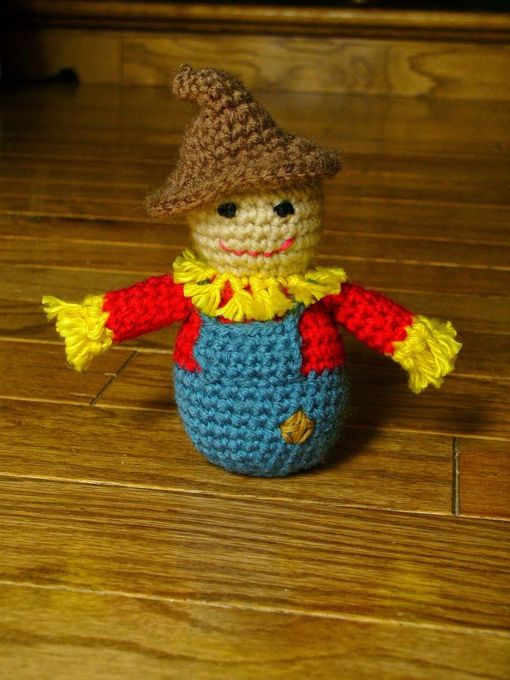 Little Scarecrow ~ free pattern ᛡ