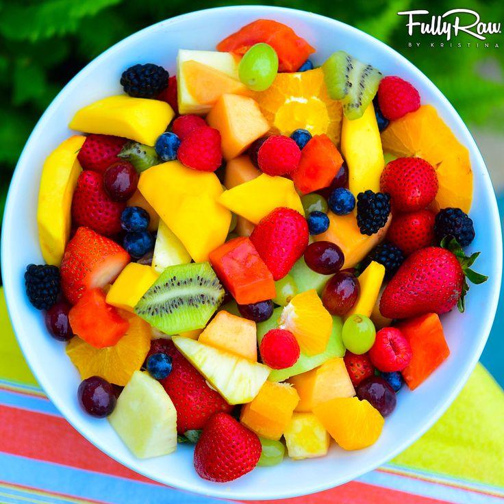 Nature's Skittles! Can you taste the rainbow?! ✨ #healthy #vegan #rawvegan