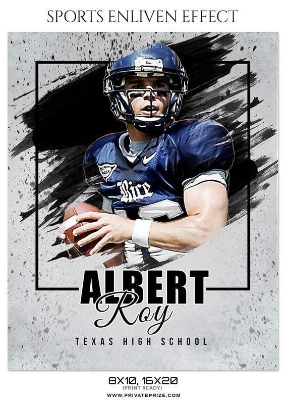 Albert Roy Football Sports Photography Sports Graphic