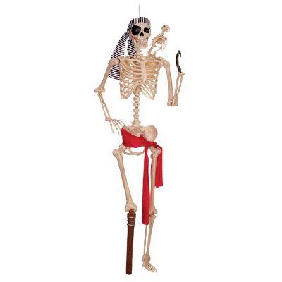 skeleton pirate halloween skeleton haunted house decor halloween decorations for apartments electronic - Halloween Decorations Skeleton
