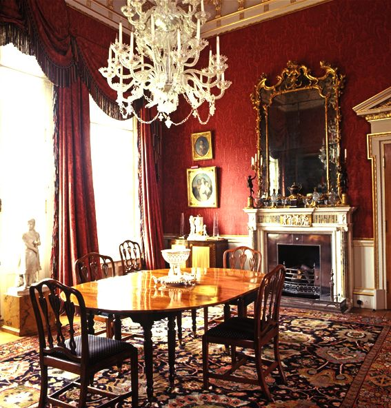 One Dining Room Three Different Ways: Henbury Hall, England... The Dining Room Holding A