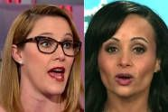 S.E. Cupp and Trump spokeswoman argue over Muslim immigration ban ~ I can't  believe I side with S.E. on anything. Who knew she might be the voice of reason? ih