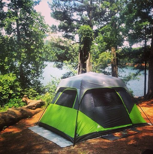The beautiful tent sites at Stone Mountain Park c&ground! & 20 best Georgiau0027s #1 Campground images on Pinterest | Mountain ...