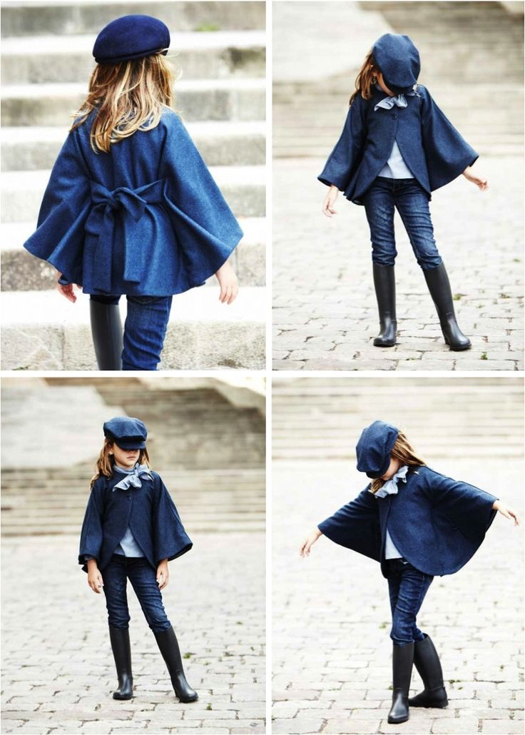 """flared Winter coat for girls"""