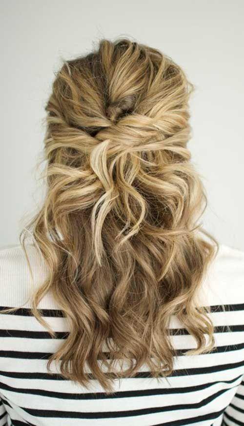 25.Medium Long Hair Style