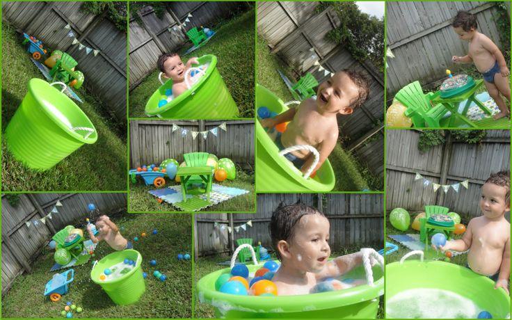 Cute Backyard Party Ideas :  Birthday, Birthday Darien, Ball Pit, Baby Birthdays, Birthday Ideas