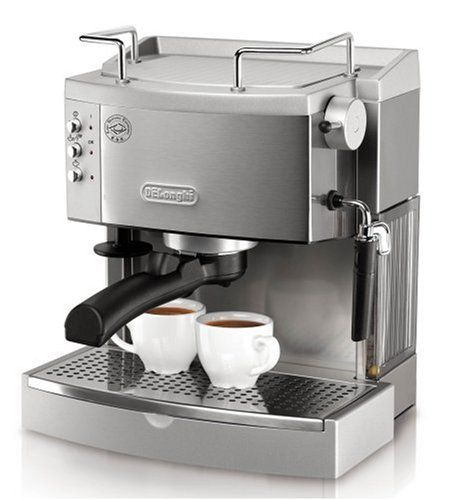 DeLonghi EC702 15-Bar-Pump Espresso Maker, Stainless DeLonghi http://smile.amazon.com/dp/B001CNG7RY/ref=cm_sw_r_pi_dp_jps-tb039090F