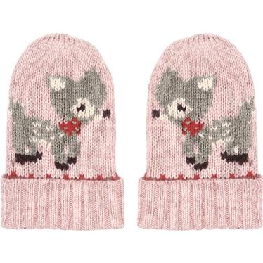 These adorable mittens will keep little hands toasty on chilly days, and they look lovely with our matching baby cardigan.