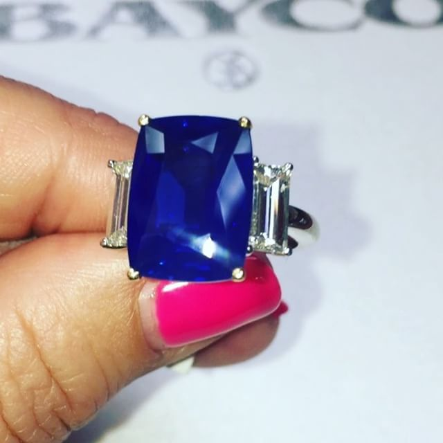 I just died and went to .............. KASHMIR SAPPHIRE HEAVEN  @baycojewels This is something very rare & special for the serious gem collectors.  There are over 2 million reasons you need this in your life  Why are Kashmir Sapphires so special❓❓❓ The most famous sapphires in the world are from Kashmir, but these rare gems are almost never seen, except in museums or photographs. New sapphires are rarely discovered in Kashmir, and most of the material that exists was discovered more ...