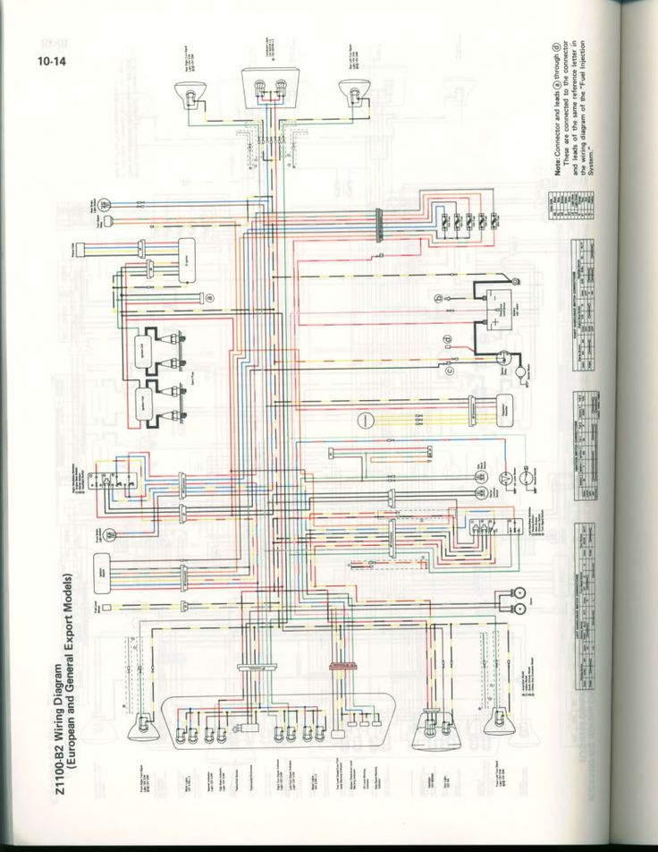 Kzr Forum Topic Gpz1100 B2 1983 Wiring Diagram 13 ...