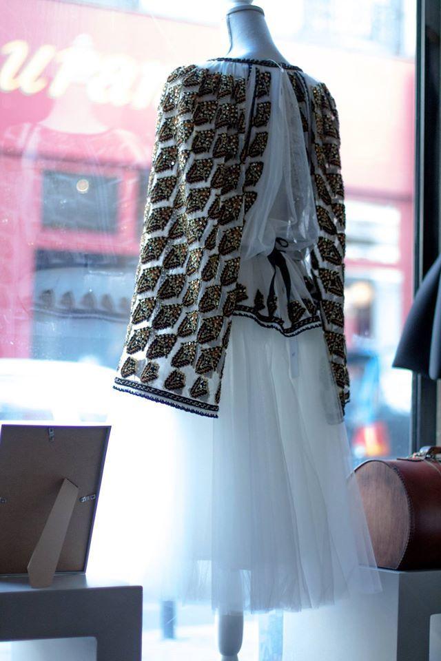 Izabela Mandoiu creations can also be found in Paris.  Shopping for Happiness is an exquisite shop.   Adress: 46 rue du Roi de Sicile, Paris. #ShoppingForHappiness #ParisFashion #EveryDayOnTheCatWalk