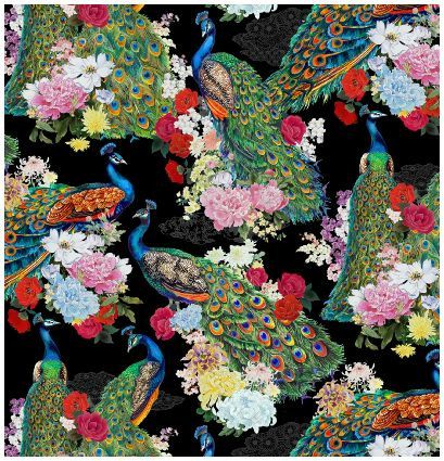 38 Best Images About Peacock Upholstery Fabric On