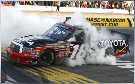Toyota and Kyle Busch Motorsports, a winning combination.