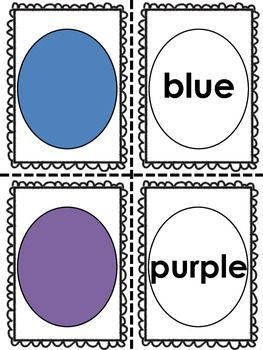 $3 COLOR WORD PRACTICE SET {4 COLOR WORD ACTIVITIES INCLUDED IN THIS 50 PAGE SET} - TeachersPayTeachers.com