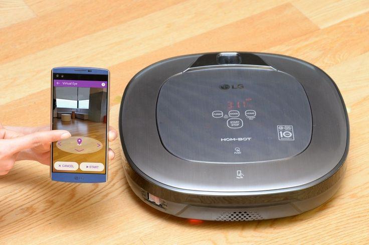 LG presenterà al CES laspirapolvere robot con realtà aumentata