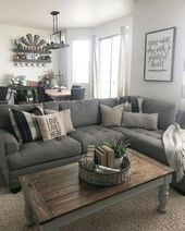 79 cozy modern farmhouse living room decor ideas -  Country style for your living room – how it works!  - #Cozy #Decor #Farmhouse #Ideas #living #modern #Room