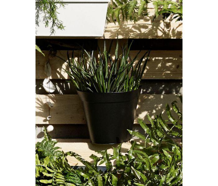 Hangende bloembakken balkon bloembak gedehams xh cm zw for Balkon bloembak