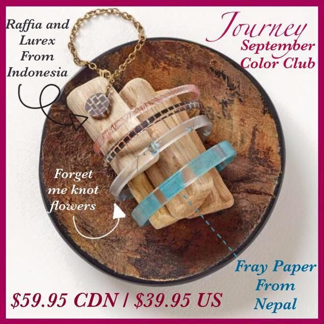 Fall in Love this September with our Journey Color Club #cbacolorclub Our NEW interlayers are stunning! Supporting #Indonesia and #Nepal