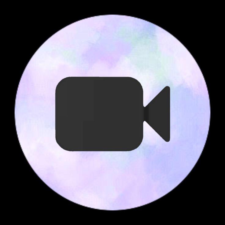FaceTime icon💜 in 2020 | Cute app, Purple wallpaper iphone ...