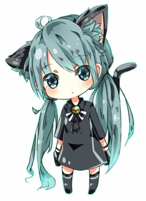 Best 25 cute chibi ideas on pinterest - Cute anime miku ...