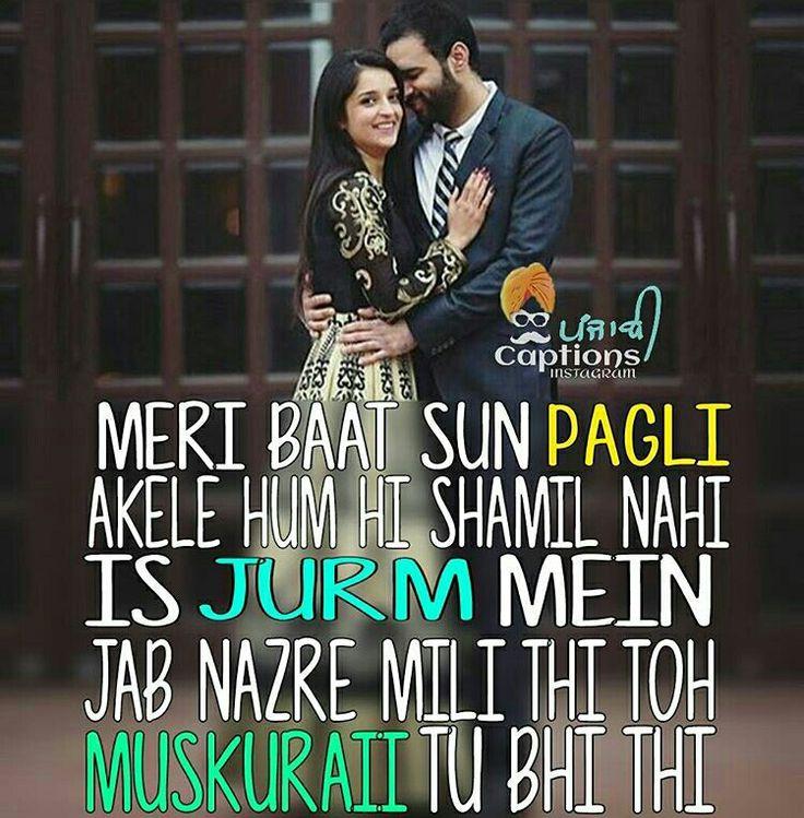 26 best shayari images on pinterest hindi quotes punjabi quotes punjabi captions punjabi quotes suit accessories quotes pics pajama dear crush attitude lyrics music lyrics malvernweather Choice Image