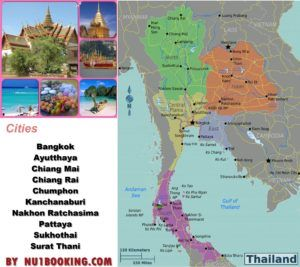 """"""" Thailand """" Cities & Other destinations & Regions & Culture & Holidays & Thai airlines"""