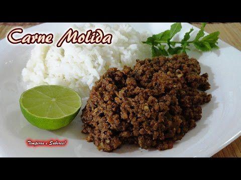 CARNE MOLIDA receta rápida y fácil, especial para rellenos y para comer como quieras - YouTube