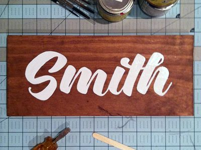 Smith Sign by John Kane