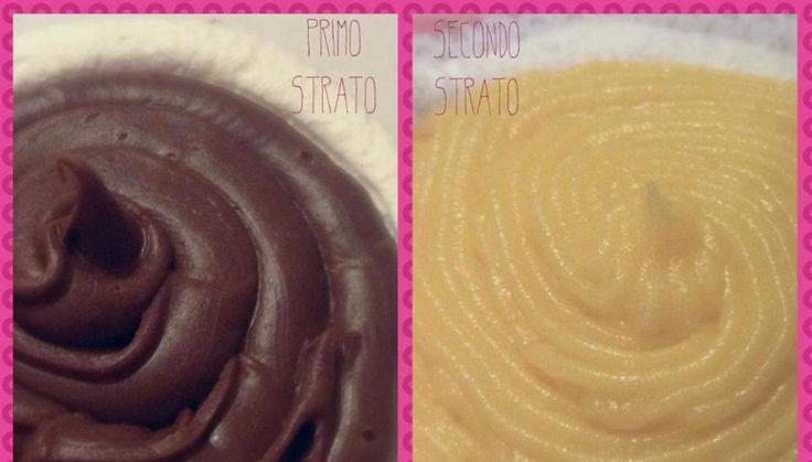 Cioccolato e Crema Pasticcera senza uova