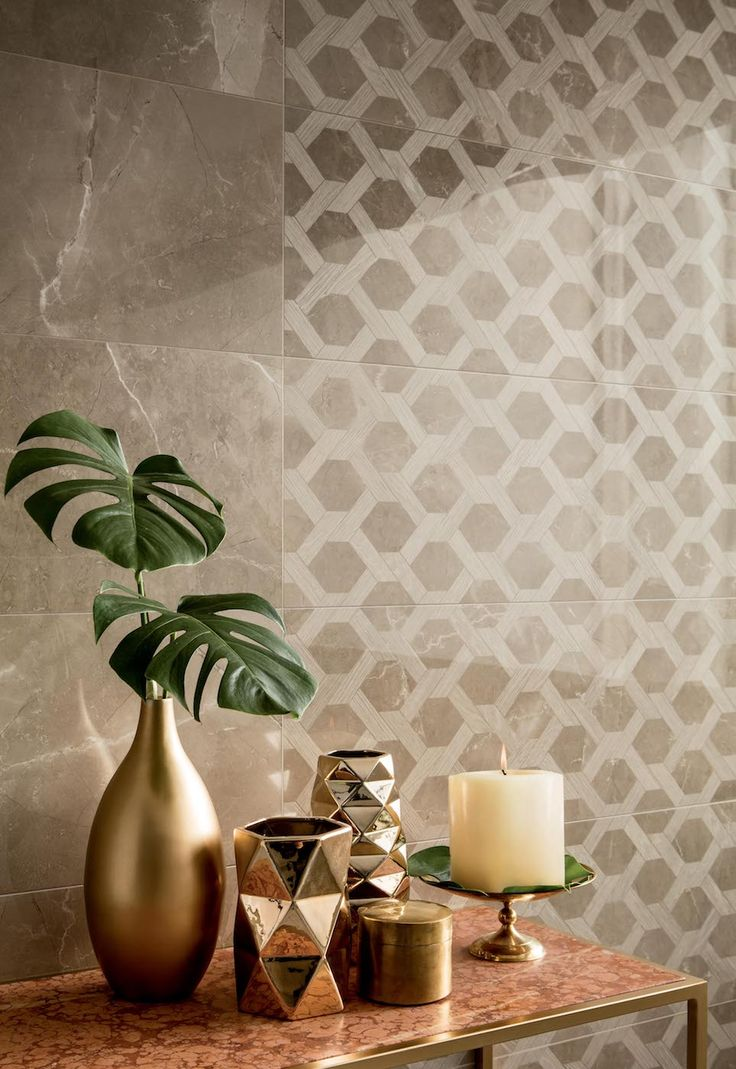 Коллекция Elegance фабрики Piemme Valentino, дополненная изысканными декорами #valentinohome #keramir #design #piemme #interiordesign