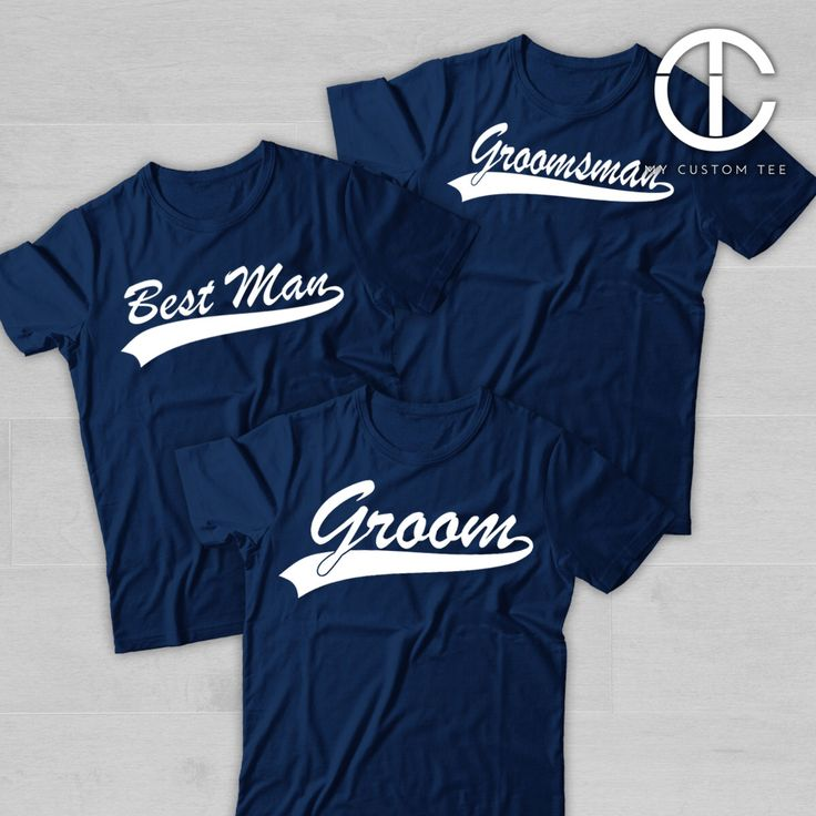 5 Groomsmen Shirts - Team Groom - Bachelor Party - Baseball Sports Groomsman - Set of 5 T-Shirts Tee Shirt by mycustomtees on Etsy https://www.etsy.com/listing/263063245/5-groomsmen-shirts-team-groom-bachelor