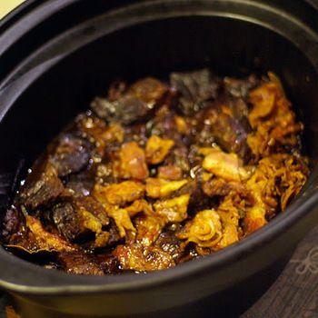 Burgundisk gryta i crock pot