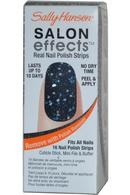 Sally Hansen Salon Effects Salon Nail Strips give you an instant salon effect with no dry time. Sally knows that nails are your best accessory. Salon Effects Strips make it easy to get that perfect manicure any time, any place. It wears like nail polish because it is nail polish, just apply, shape to your nails and within seconds you have a perfect manicure. Prices from £1.99
