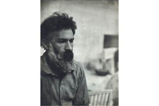 Constantin Brâncusi, Romanian 1876-1957- Self-Portrait, c.1930-1939; gelatin silver print, 24x18c
